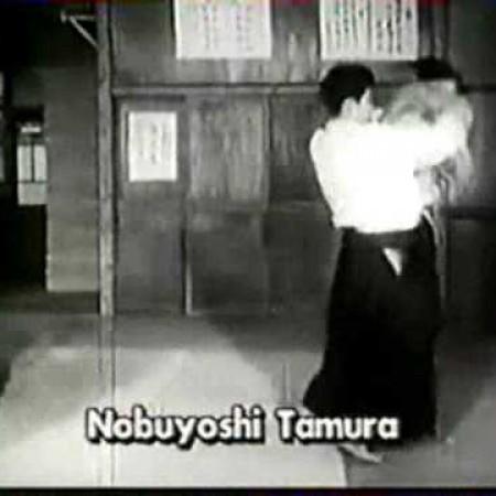 Nobuyoshi Tamura Sensei training in 1958 - Aikido master
